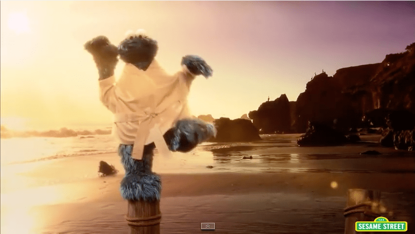 The Biscotti Kid : Sesame Street's Cookie Monster in Ausbildung