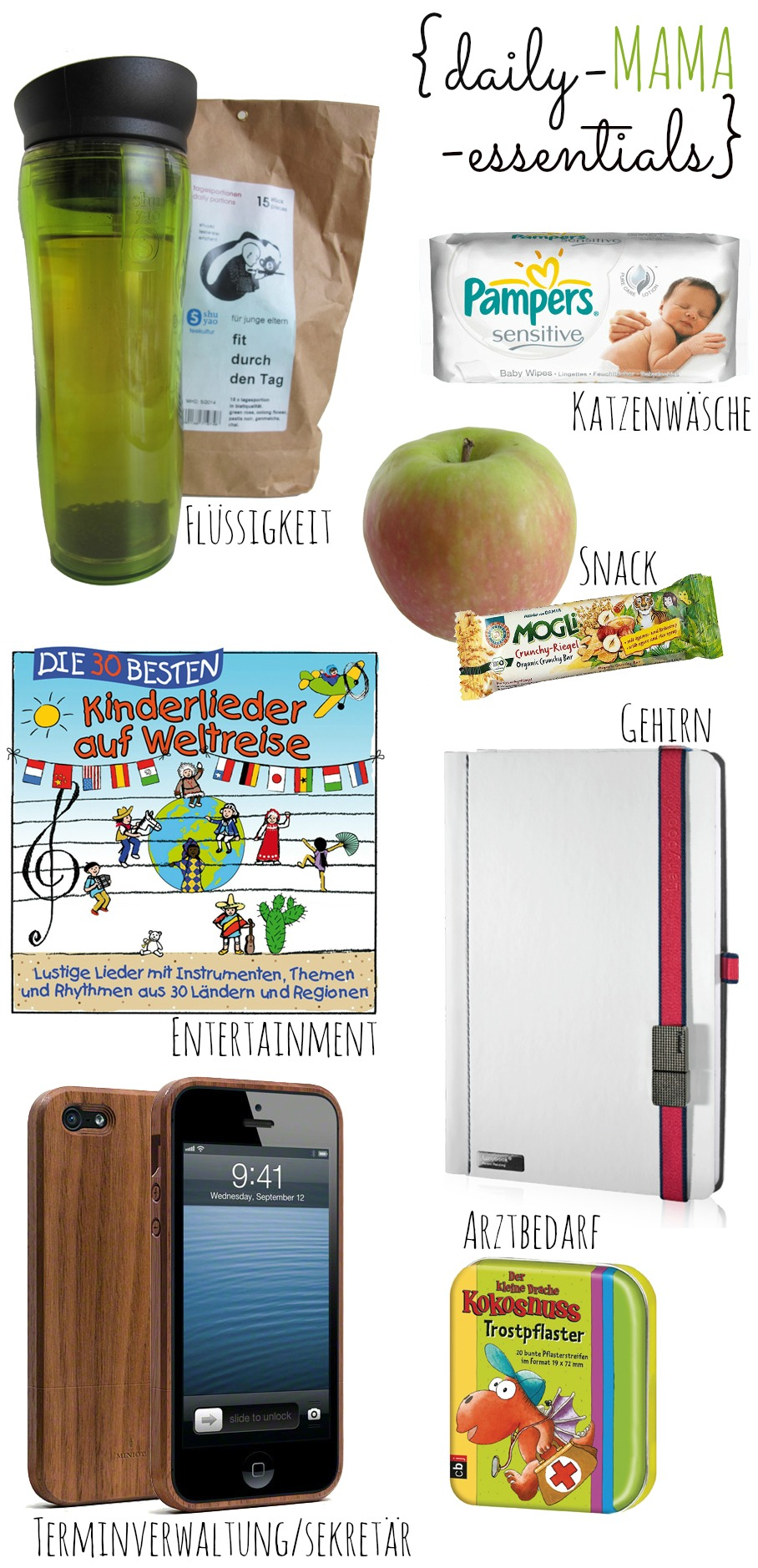 (Deutsch) Mama unterwegs : {daily-MAMA-essentials}