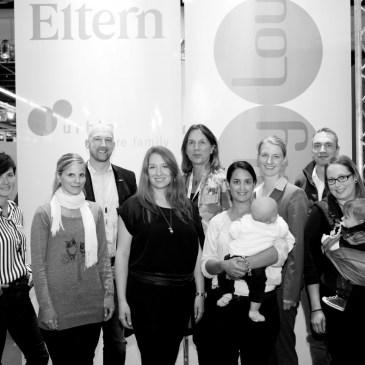 elternmagazin chefredaktuerin Marie-Luise Lewicki und philips Avent roundtable kind jugend b:w