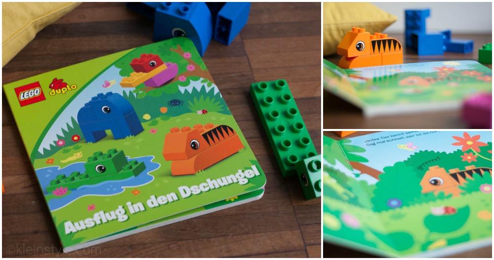 lego bau und lese set Erfahrung Collage by kleinstyle.com