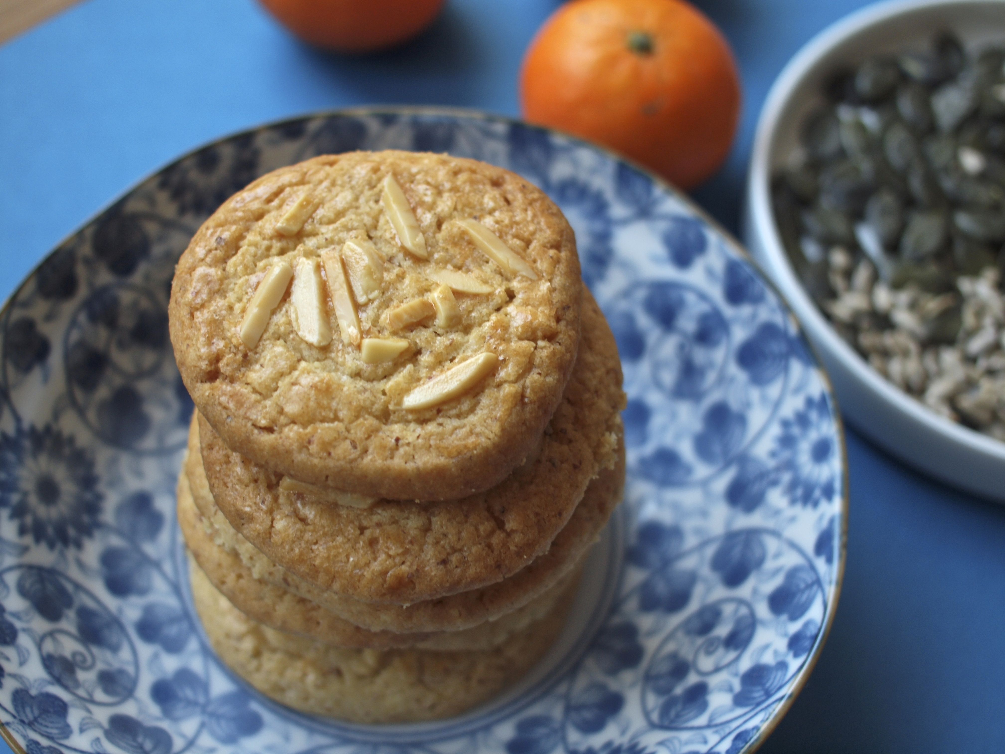 (English) Food Friday : Almond Cookies – For Chinese New year