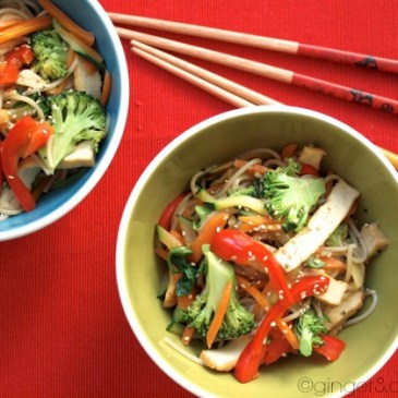 Food friday on kleinstyle.com healthy and yummy recipes for the whole family : vegetarian noodles
