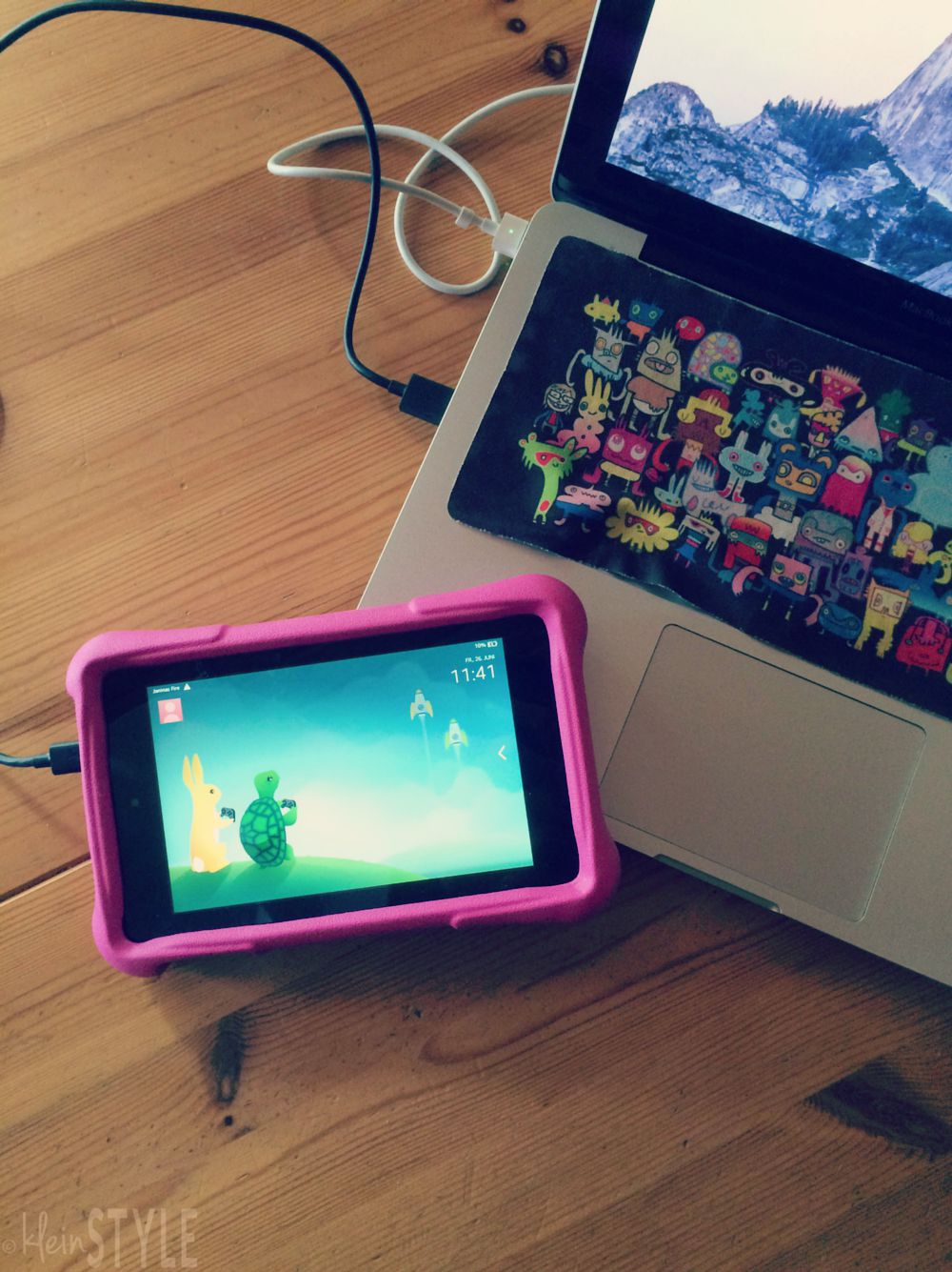 amazon kindle fire hd 6 kids edition im test pic © kleinstyle.com