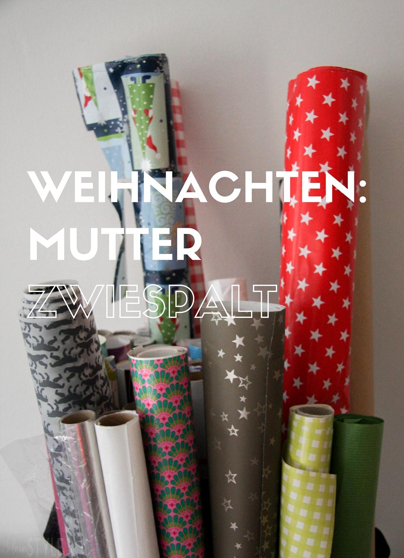 (Deutsch) Weihnachten : Zwiespalt einer Mutter