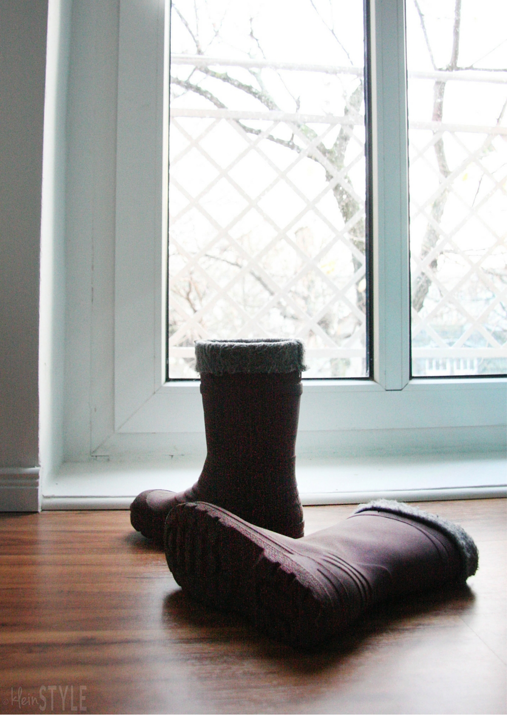Regen, Schnee, Matsch : Kinderstiefel
