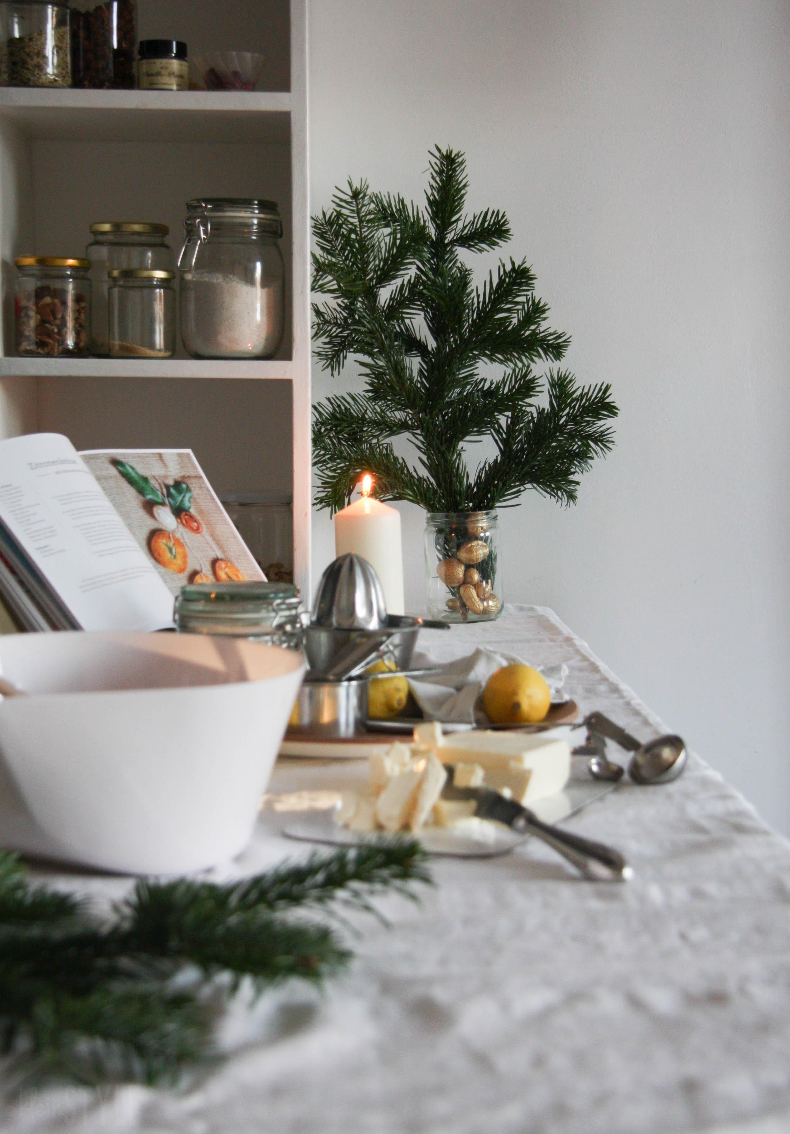 Zitronige Weihnachtszeit : ein Keks-Rezept {rein pflanzlich}