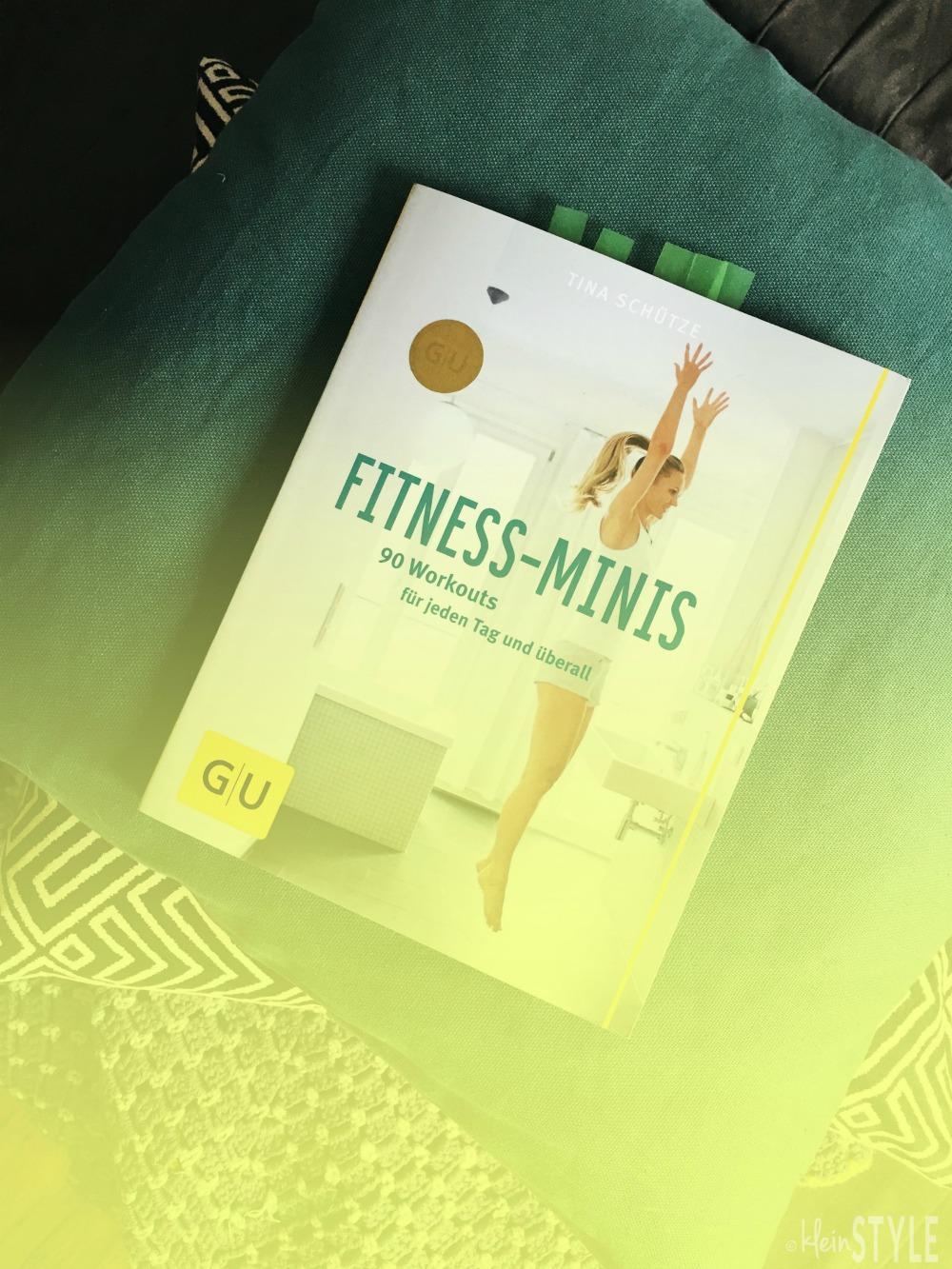 Fitness Minis von Julia Schuetze GU Verlag pic ©kleinstyle.com