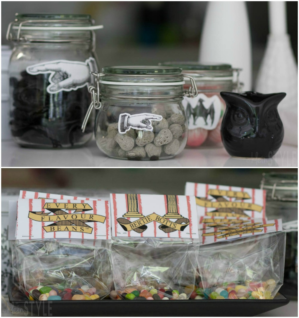 Harry Potter kids Party bertie botts every flavour beans and other candy©kleinstyle.com