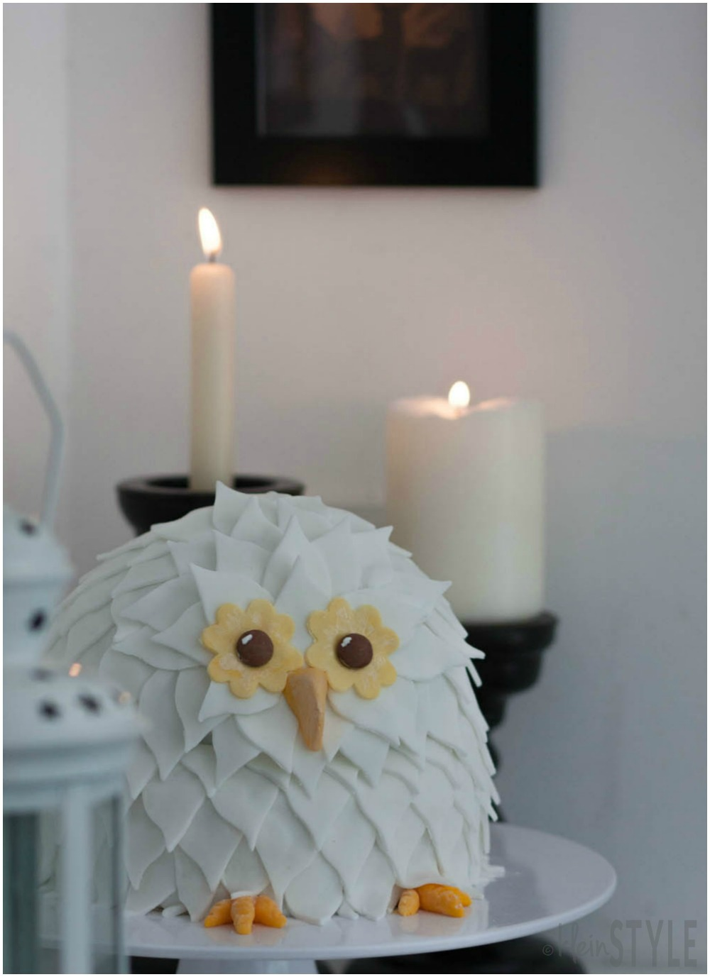 Harry Potter kids Party owl hedwig cake ©kleinstyle.com