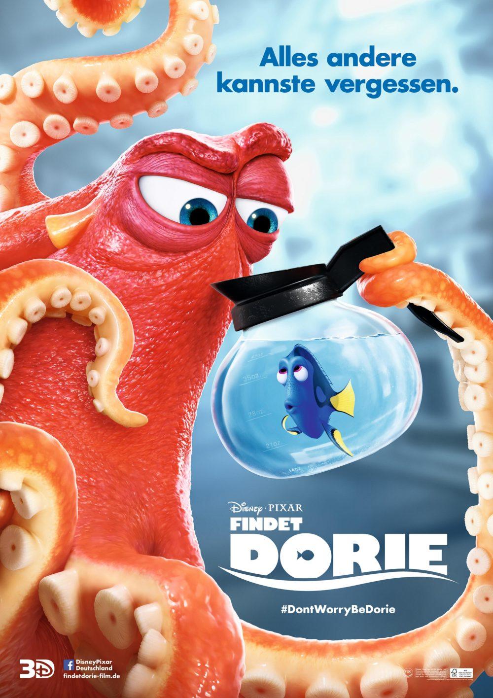 Findet Dorie : Alte Bekannte auf der Leinwand  {inkl. lecker gesundem Kinder-Rezept}