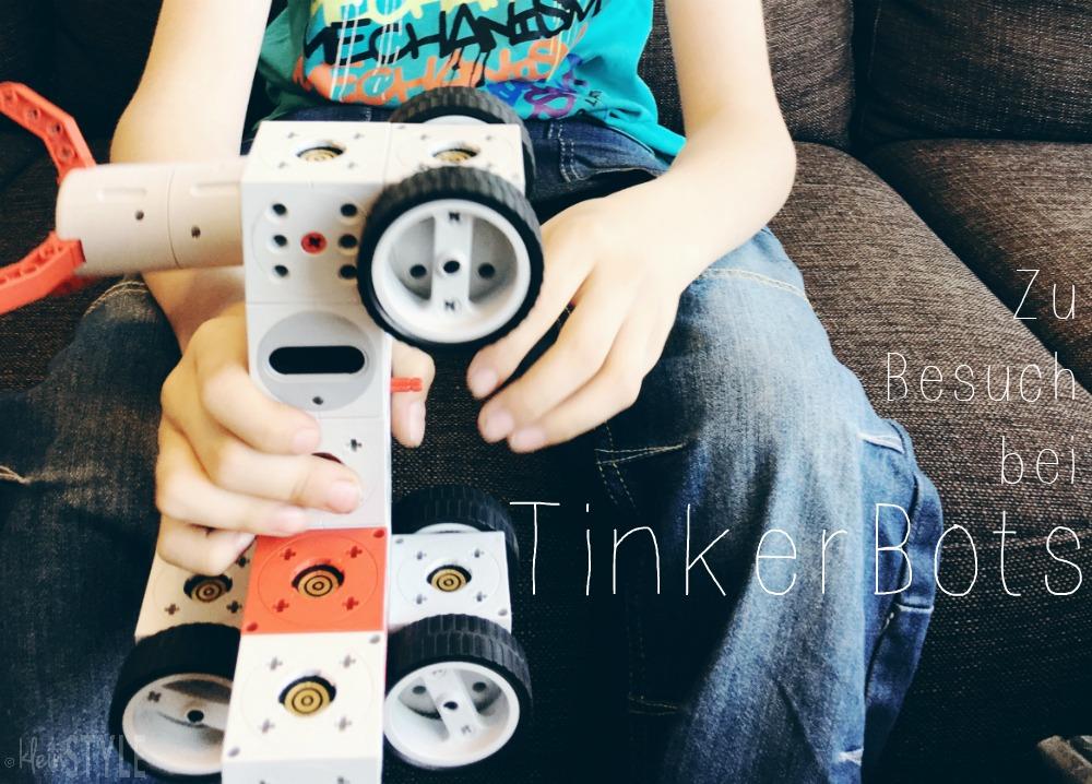 Robotik-Baukomponenten mit Powerbrain : TinkerBots