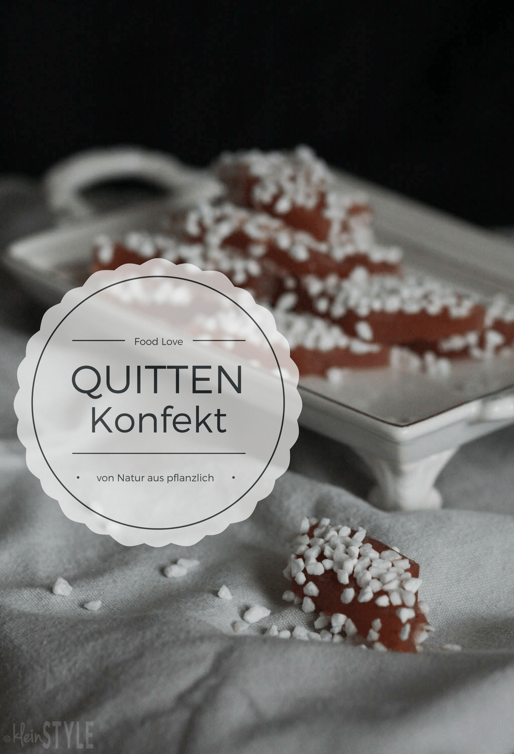(Deutsch) Food Love Friday : Quittenkonfekt-Rauten