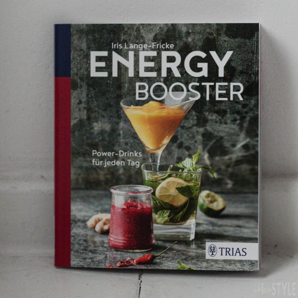 Energy Booster von Iris Lange-Fricke aus dem Trias Verlag