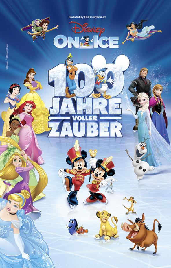 Disney On Ice – 100 Jahre voller Zauber