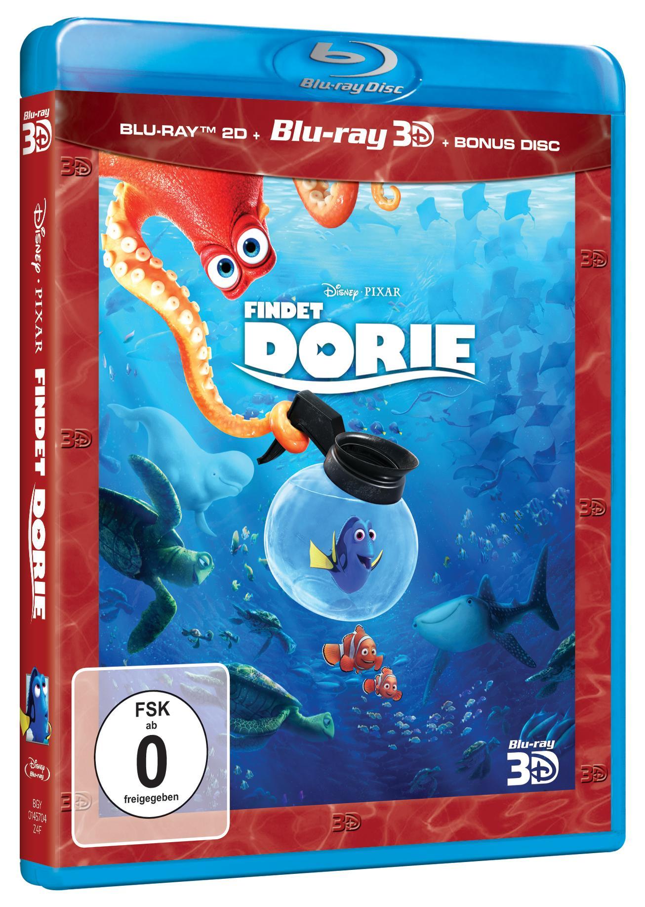 Disney Pixar - Findet Dorie  Blu-Ray 3D