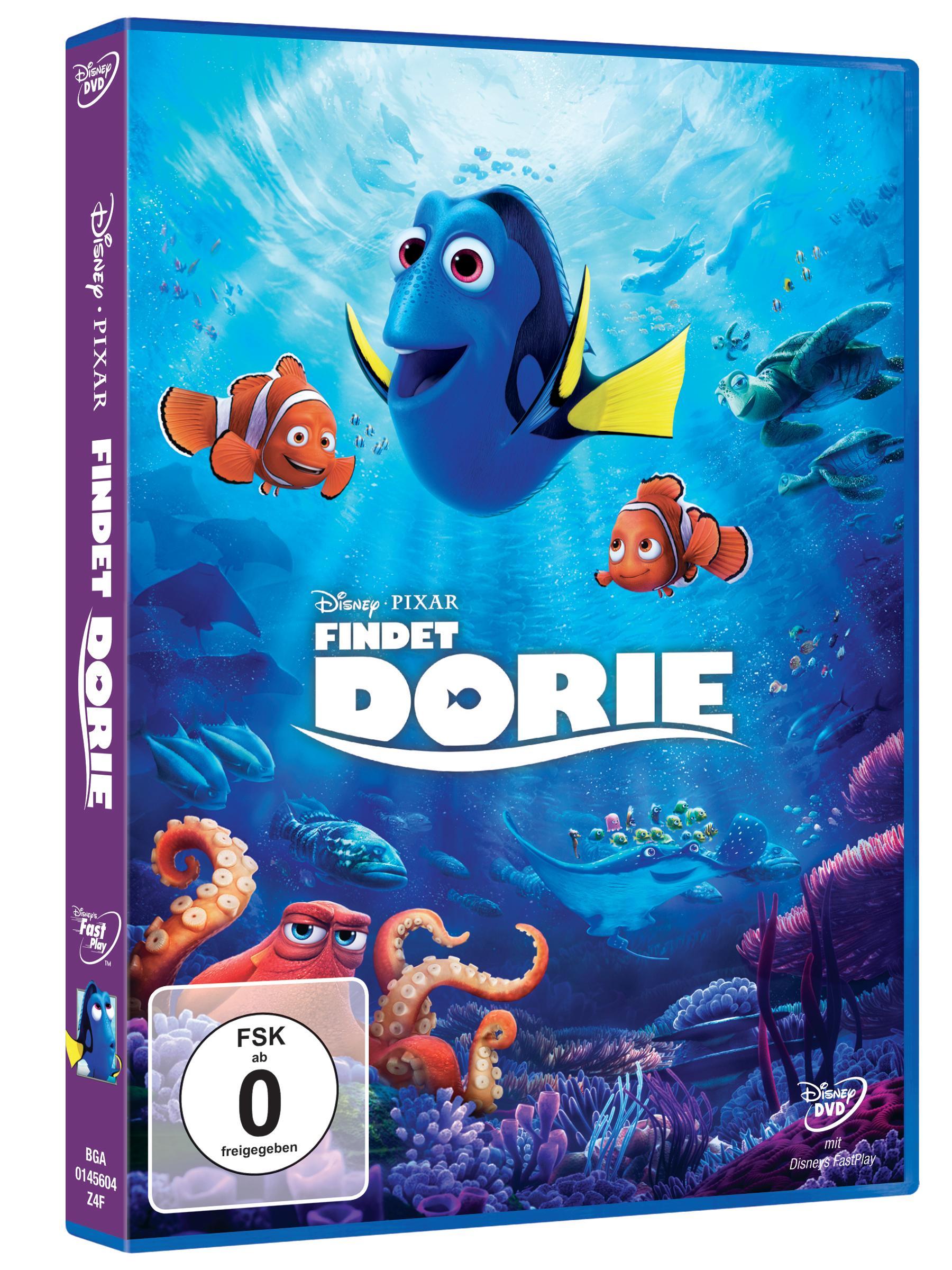 Disney Pixar - Findet Dorie DVD