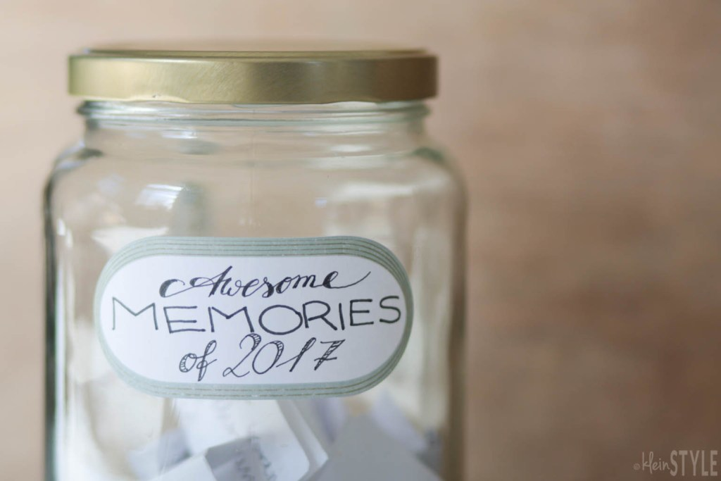 Familien Ritual Dankbarkeit Gluecksmomente Glas Awesome Memories Happy Moments jar by kleinstyle.com-2