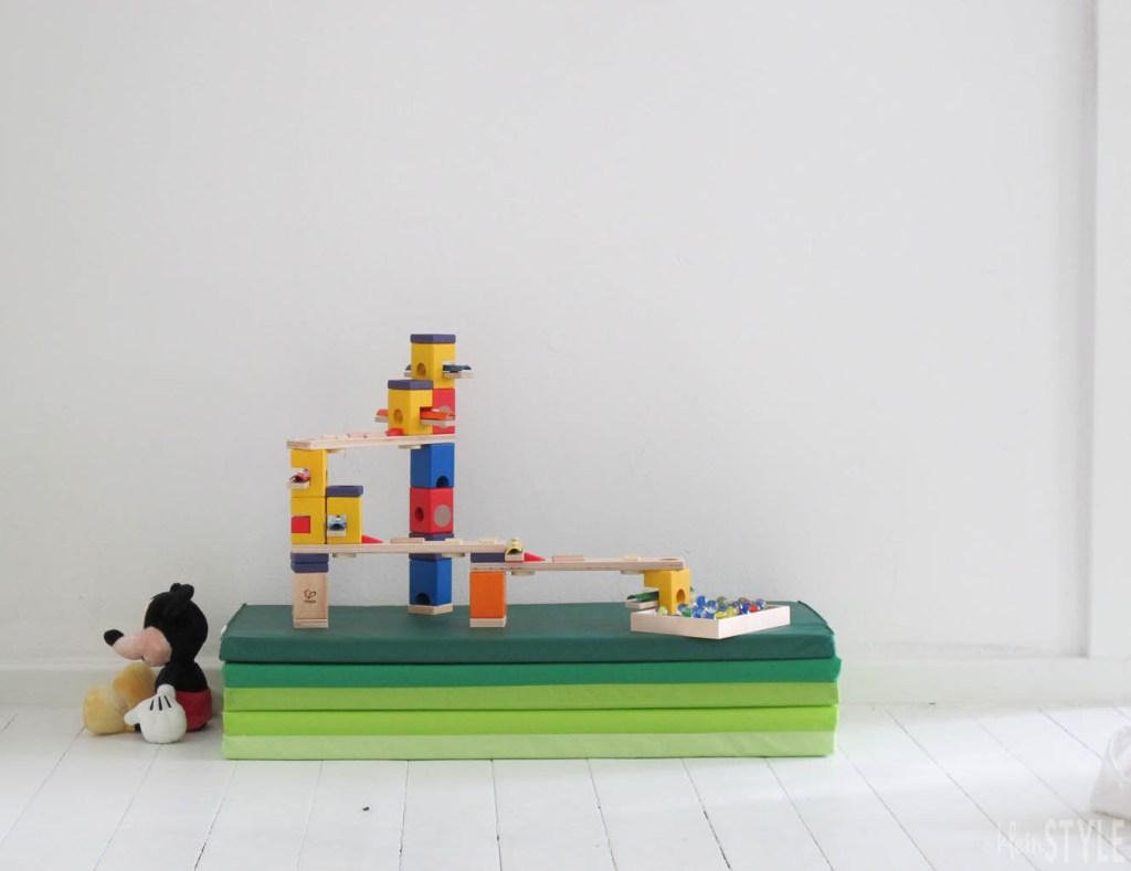 Murmeln ein Spielzeugklassiker - Murmelbahn von Hape im Test