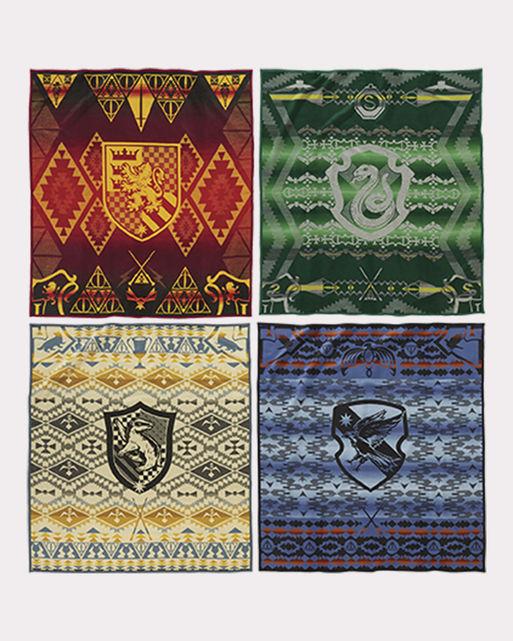 Harry Potter X Pendleton Hogwarts Vier Haeuser Wolldecke