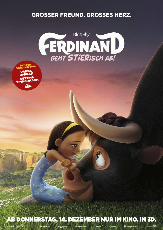 (Deutsch) Ferdinand, der Stier mit Herz : Familien-Kino {inkl. Special Screening Verlosung}