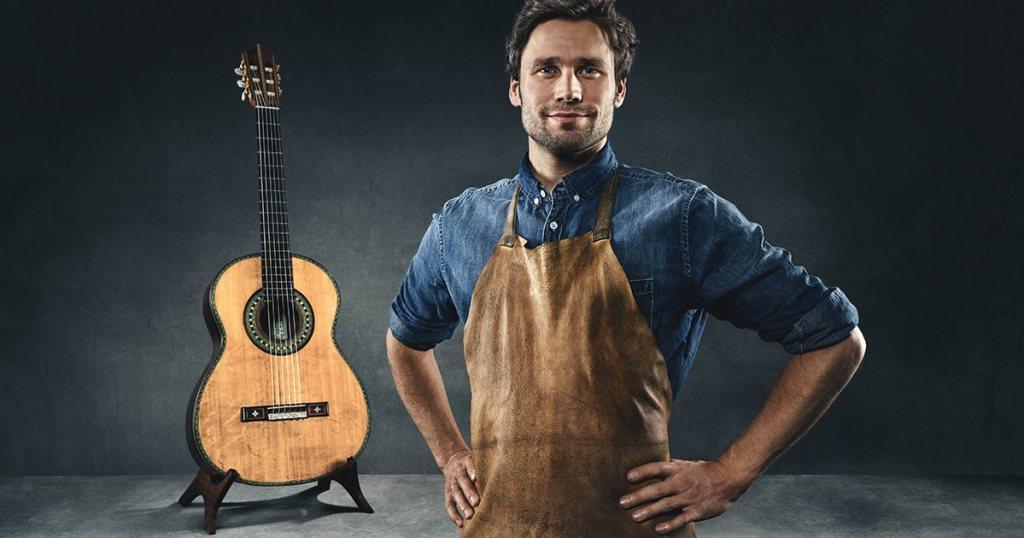 Berufswahl Handwerk Roy Fankhänel - Zupfinstrumentenmacher in der #einfachmachen-Kampagne von handwerk.de