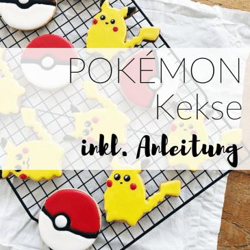 Nintendo Pokémon Kekse Anleitung auf kleinSTYLE.com