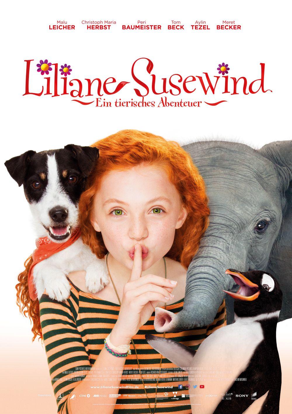 Liliane Susewind- Ein tiereisches Abenteuer - Kinofilm - Verlosung auf kleinSTYLE.com Hauptplakat