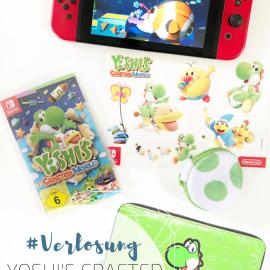 kleinstyle Gewinnspiel Nintendo switch Yoshis crafted world fanpaket