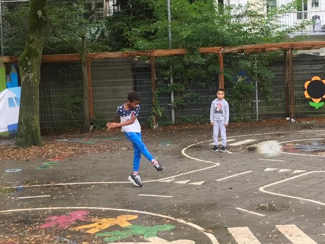 Naschoolse opvang KleintjeZuid de Rivieren speelplein