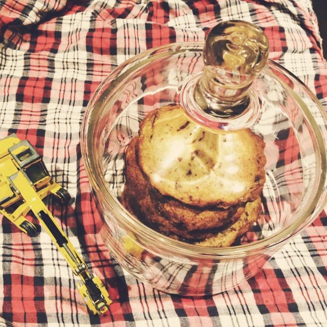 Kekse und Bagger