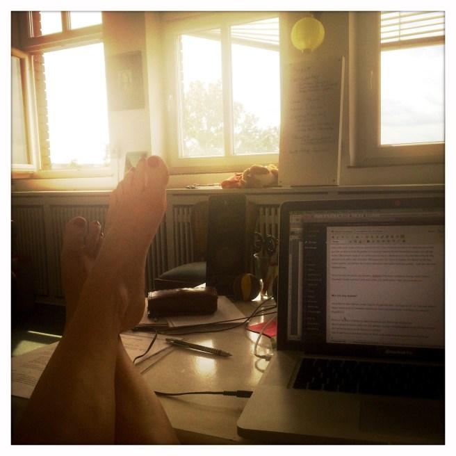 Relaxen im Büro