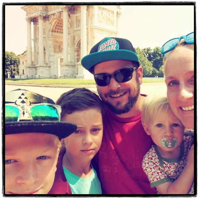 Familienurlaub in Italien