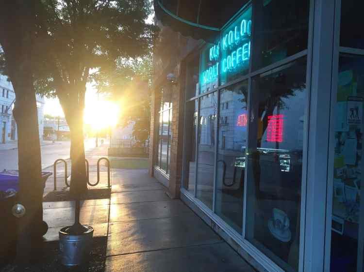 sunrise on court street