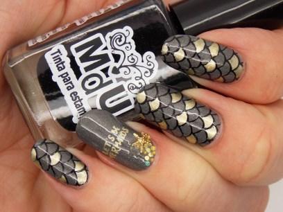 MDU - Black stamping polish