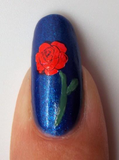Rose @klenails