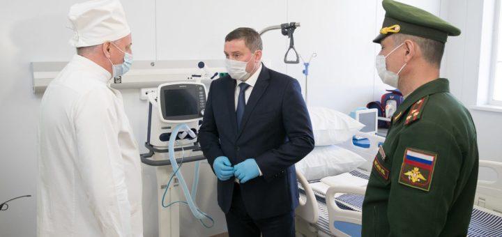 Андрей Бочаров: «Новый медцентр является хорошим дополнением системы здравоохранения Волгоградской области»