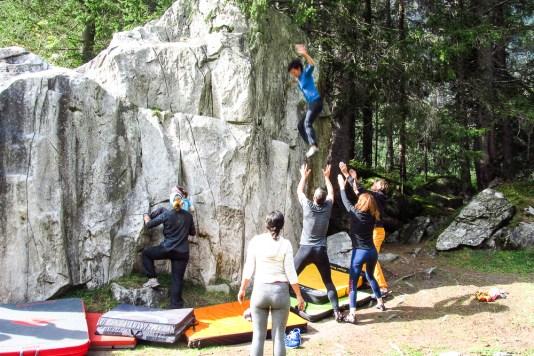 Bouldern Zillertal Outdoor