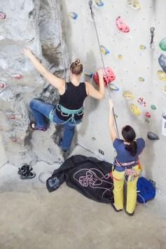 Indoor Klettern Mental