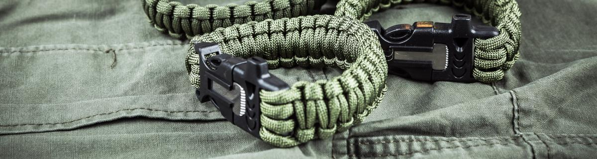 survival Armband Paracord