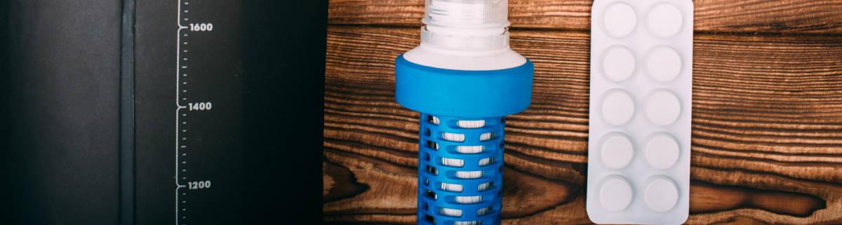 Wasserreinigungstabletten und Zubehör