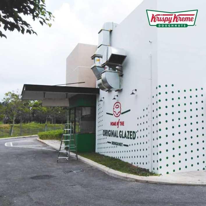 Krispy kreme drive thru