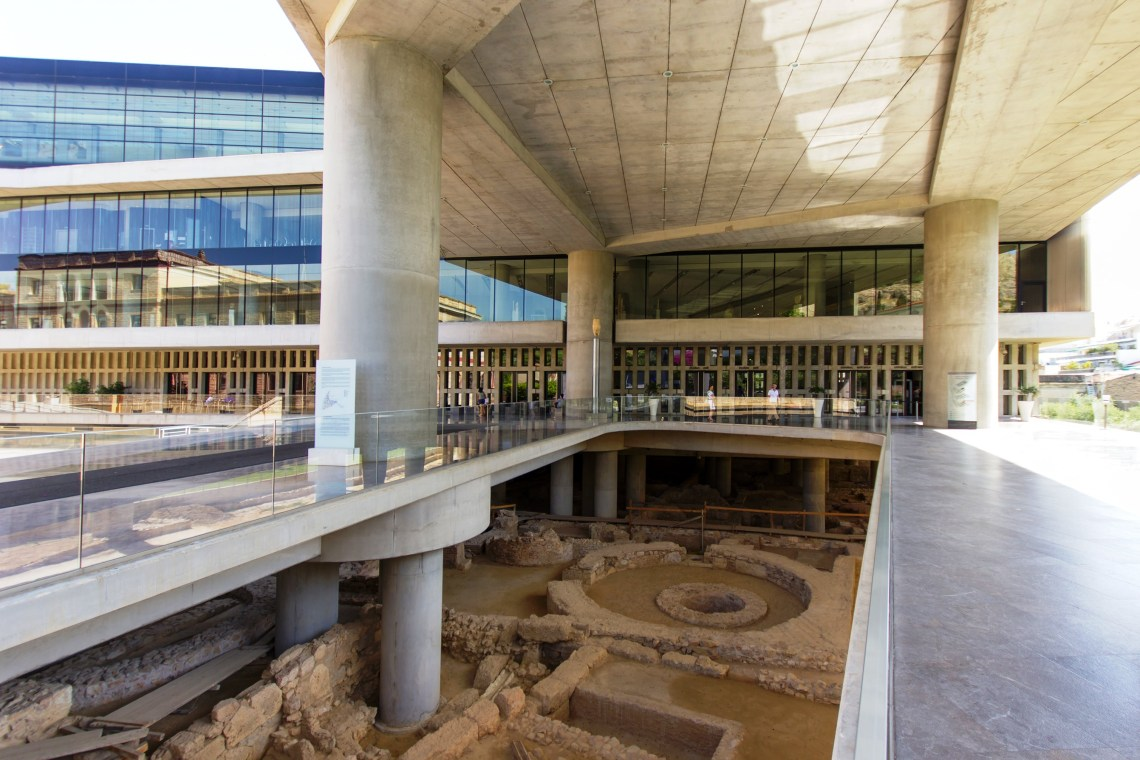 Acropolis museum family guided tour kids love greece Athens Percy Jackson Mythology Family Trip 7-day Package activities for families