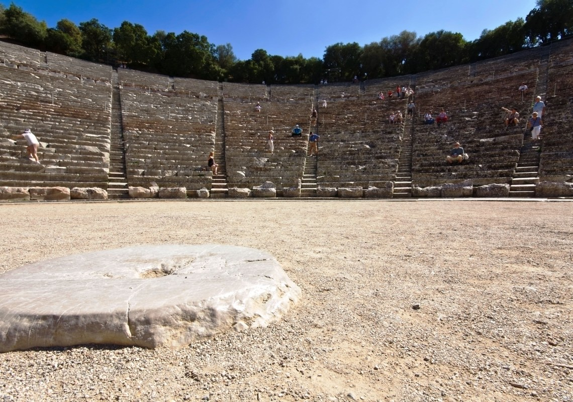 Epidaurus Percy Jackson Mythology Family Trip 7-day Package activities for families family guided tour family guided tour kids love greece Peloponnese