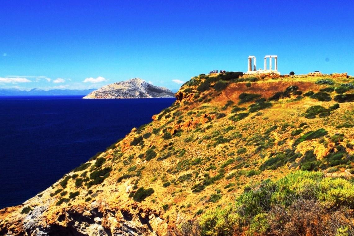 Temple of Poseidon Stargazing at Cape Sounion Family Tour kids love greece Athens activities