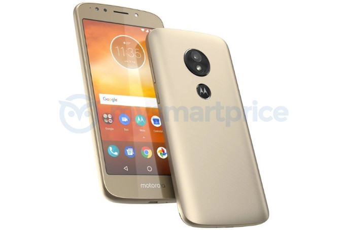 Moto E5 renders leaked, comes with rear fingerprint sensor