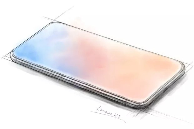 Lenovo Z5 teaser shows an all screen phone without a notch
