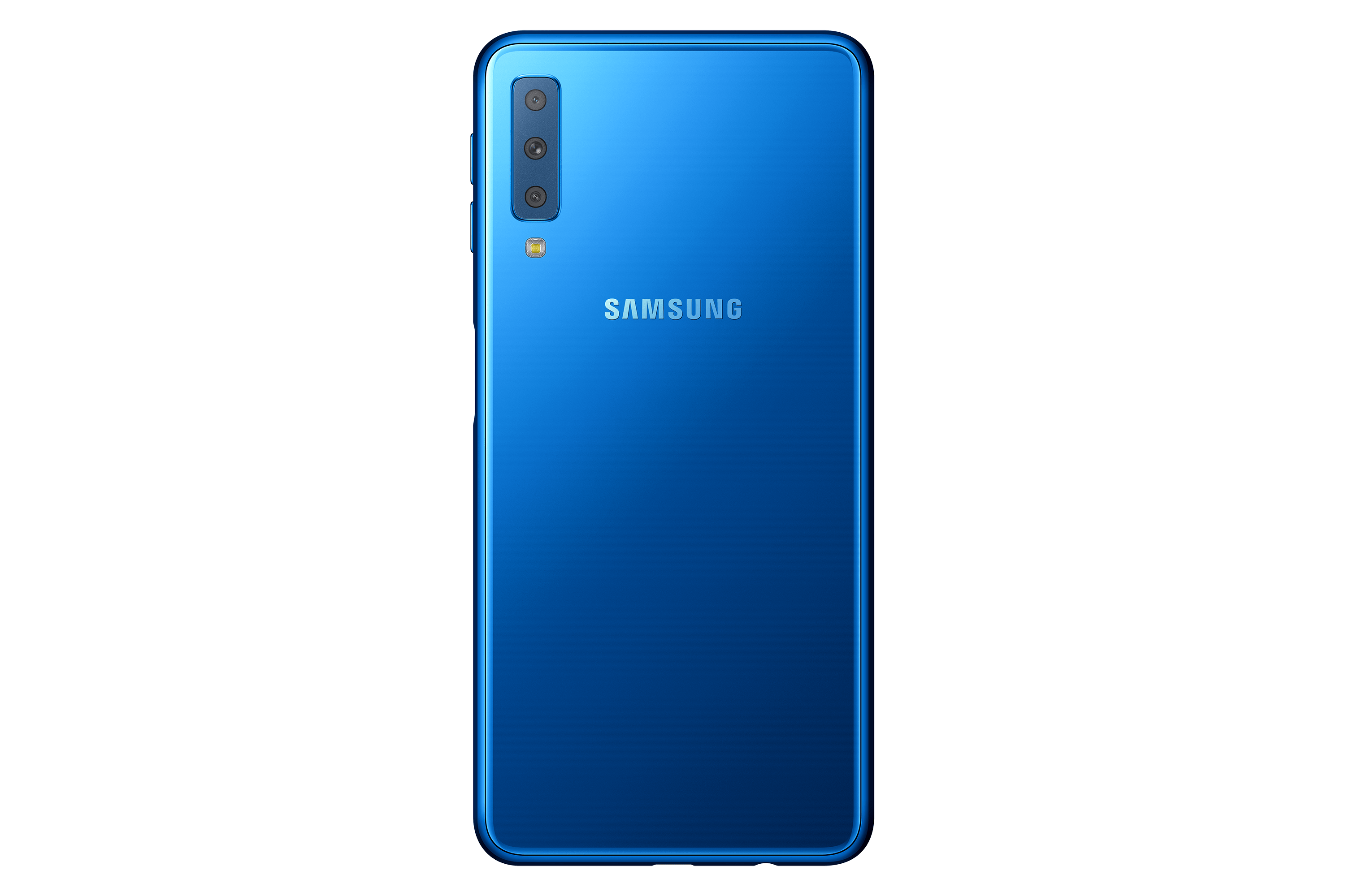 Samsungs Galaxy A7 Has Three Cameras And A Feature From The Note 9 Smartphone Samsung As For At Back It Plays Totally Different Game Huawei P20s Tri Lens Solution Theres 24mp Standard Angle 8mp