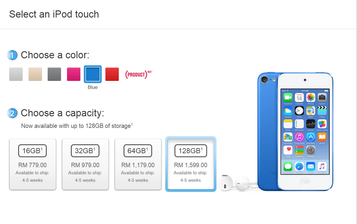 Five Reasons Im Buying The New Ipod Touch Klgadgetguy Apple 6 16gb Blue Starting From Price Of Rm779 For Model And Up To Rm1599 128gb Is Most Affordable Ios Device That Packs With