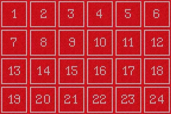 Klickerförlagets julkalender 2016
