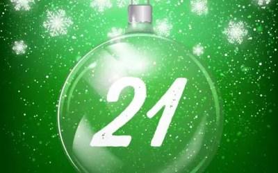 Julkalender lucka 21: Valp i rörelse